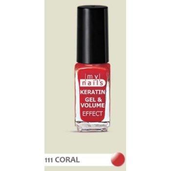 my nails keratin g&v 111 coral
