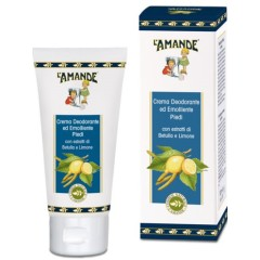l'amande marseille - crema deodorante ed emolliente piedi100ml