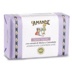 l'amande sapone vegetale malva calendula 200ml