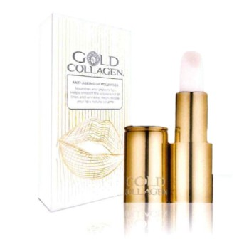 gold collagen anti ageing lip volume labbra