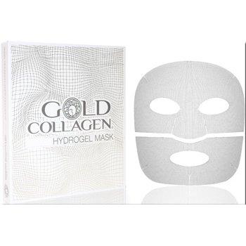 gold collagen hydrogel mask 4 pezzi