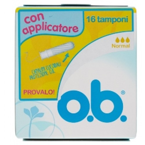 OB APPLICATORE NORMAL 16PZ