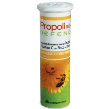 propoli mix defend 10 compresse effervescenti arancia