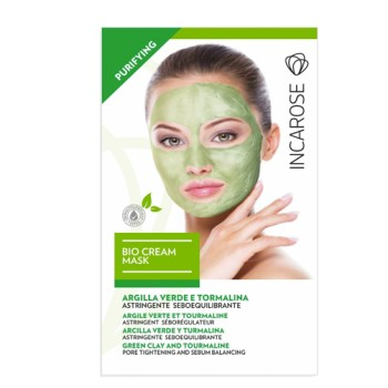 incarose bio cream mask purif