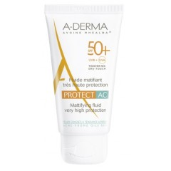 aderma a-d protect ac fluido solare spf 50+ 40 ml