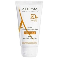 aderma a-d protect fluido solare 50+ 40 ml