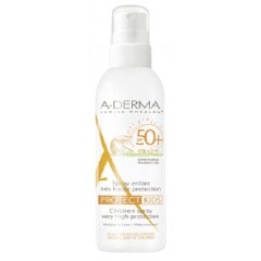 aderma a-d protect kids spray solare spf 50+ 200 ml