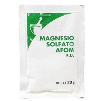 magnesio solfato 30g 1bst afom