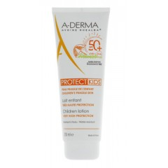 aderma a-d protect latte solare kids spf 50+ 250 ml