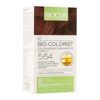 bioclin bio colorist tintura capelli colore 5.64 castano chiaro rosso rame