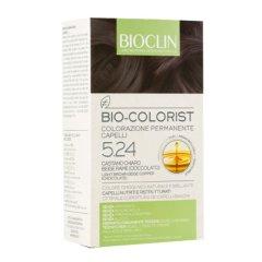 Bioclin Bio Colorist Tintura Capelli Colore 5.24 Castano Chiaro Beige Rame (Cioccolato)