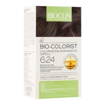 bioclin bio colorist tintura capelli colore 6.24 biondo scuro beige rame