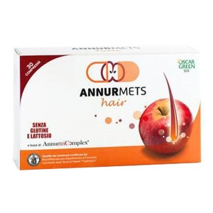 ANNURMETS HAIR 510MG 30 COMPRESSE