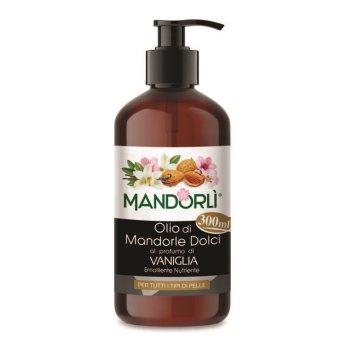 mandorlÌ olio di mandorle dolci profumo vaniglia olio corpo 300ml