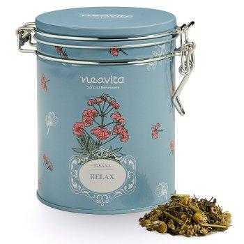 neavita royal tin erbe e tisane verbena con tisana relax 60 g