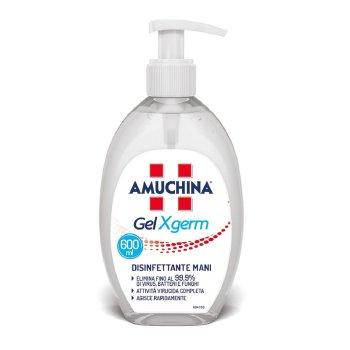 amuchina gel x-germ disinfettante mani con dosatore 600 ml