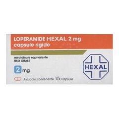 LOPERAMIDE 2mg 15 Capsule HEXAL