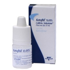 Ketoftil Collirio Flacone 10ml 0,5mg/ml
