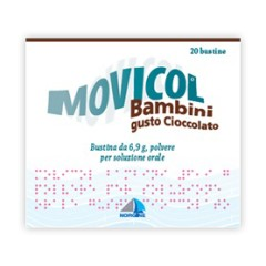 Movicol Bambini 20 Bustine 6,9g Gusto Cioccolato