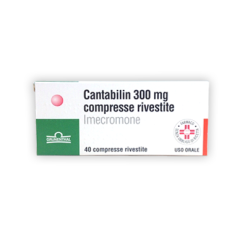 cantabilin 40 compresse rivestite 300 mg