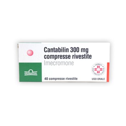 Cantabilin 40 Compresse Rivestite 300 mg