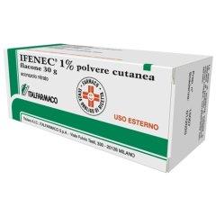 ifenec polvere cutanea 30g 1%