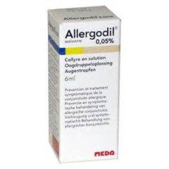 allergodil collirio flacone 6 ml 0,05%