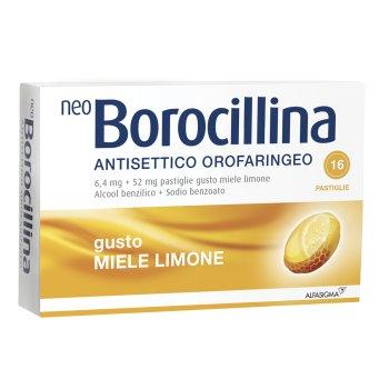 neoborocillina antisettico orofaringeo 16 pastiglie limone