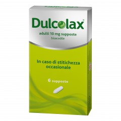 dulcolax adulti 6 supposte 10mg