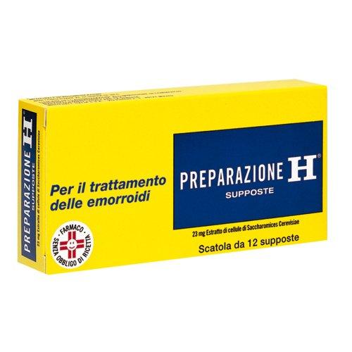 Preparazione H 12 Supposte 23mg