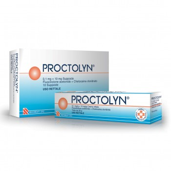 proctolyn 10 supposte 0,1mg + 10mg
