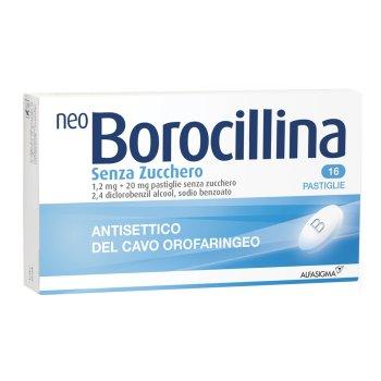 neoborocillina antisettico orofaringeo 16 pastiglie senza zucchero