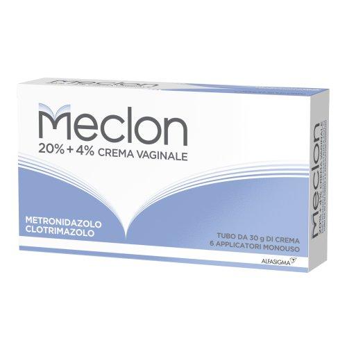Meclon Crema Vaginale 30g + 6 Applicatori