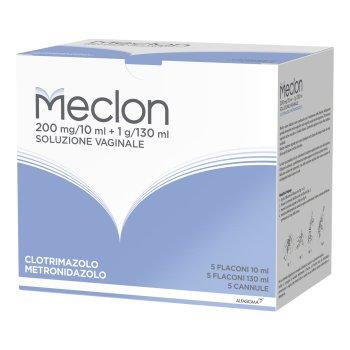 meclon soluzione vaginale 5 flaconi 130 ml