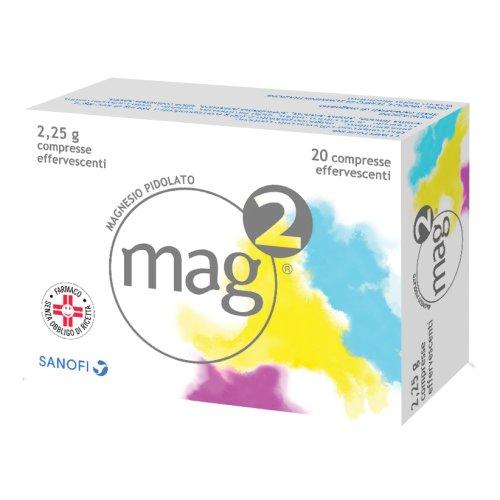 Mag 2 20 Compresse Effervescente 2,25g