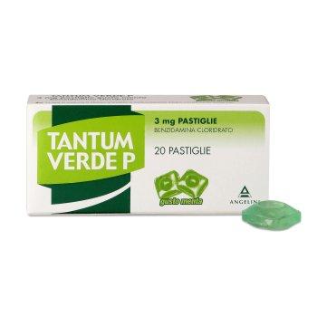 tantum verde 20 pastiglie 3mg gusto menta