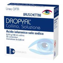 dropyal collirio 20 monodosi 0,65ml
