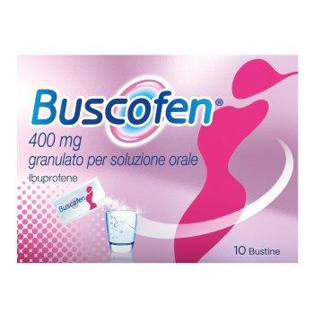 buscofen 10 bustine 400 mg
