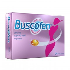 buscofen 24 capsule molli 200 mg