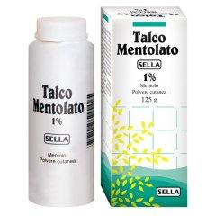 TALCO Mentolato 1% 100g SELLA