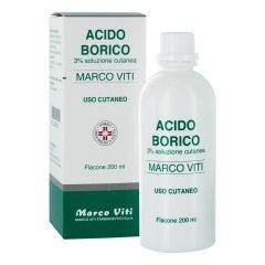 acido borico 3% 200ml viti
