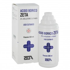 acido borico*3% 500ml
