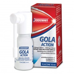 gola action spray mucosa orale 0,15%+0,5%