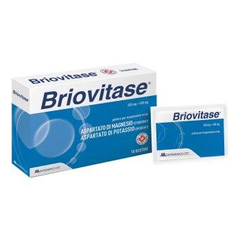 briovitase magnesio potassio 10 bustine 450mg + 450mg