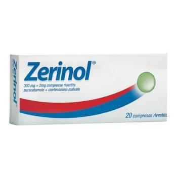 zerinol 20 compresse rivestite 300mg+2mg