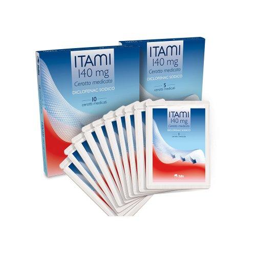 Itami Cerotti Medicati 140 mg 5 Pezzi