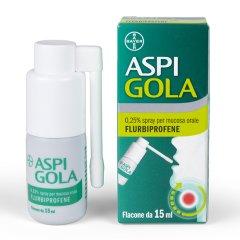 aspi gola spray orale 0,25% 15ml