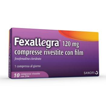 fexallegra antiallergico 10 compresse rivestite 120 mg