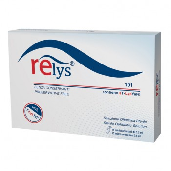 relys monodose 15minicont