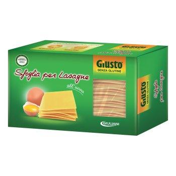 giusto s/g sfoglie lasagne250g